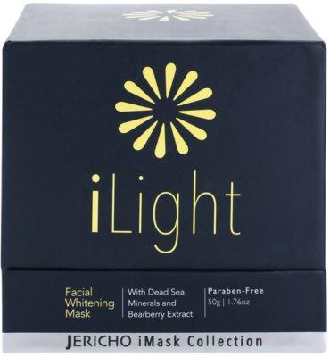 Jericho iMask Collection iLight masca pentru albirea tenului cu minerale de la Marea Moarta 3