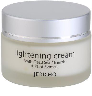 Jericho Face Care krem rozjaśniający przeciw przebarwieniom skóry