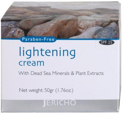 Jericho Face Care crema iluminatoare impotriva petelor 4