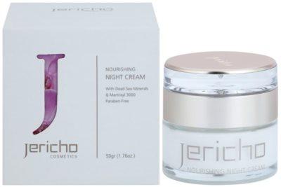 Jericho Face Care creme de noite nutritivo