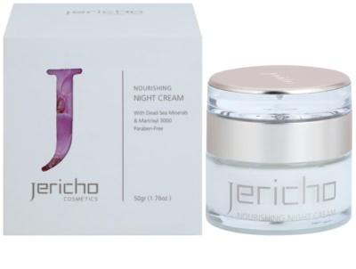 Jericho Face Care tápláló éjszakai krém