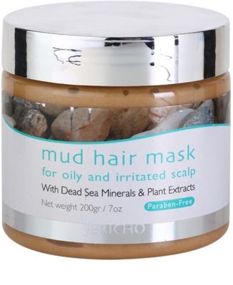 Jericho Hair Care masca de par cu namol pentru scalp iritat cu tendinta de ingrasare