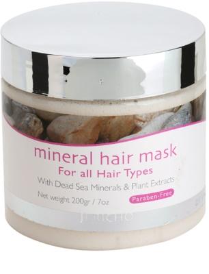Jericho Hair Care hajmaszk ásványi anyagokkal minden hajtípusra