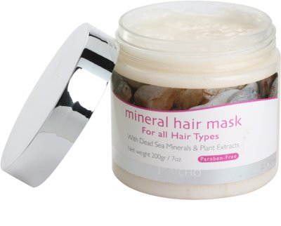 Jericho Hair Care mascarilla mineral para cabello para todo tipo de cabello 1