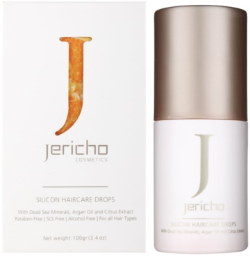 Jericho Hair Care hranilno olje za konice las 2