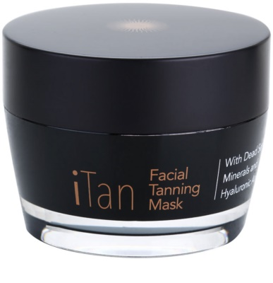Jericho iMask Collection iTan máscara facial de bronzeamento com minerais do Mar Morto