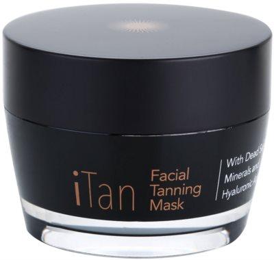 Jericho iMask Collection iTan mascarilla facial autobronceadora con minerales del Mar Muerto