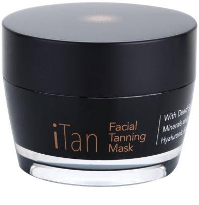 Jericho iMask Collection iTan samoporjavitvena maska za obraz z minerali Mrtvega morja