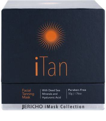 Jericho iMask Collection iTan máscara facial de bronzeamento com minerais do Mar Morto 3