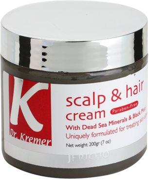 Jericho Dr. Kremer Scalp & Hair máscara para cabelo e couro cabeludo com minerais do Mar Morto
