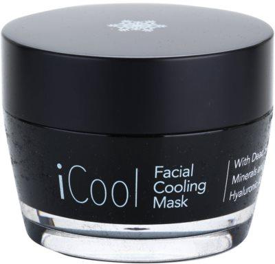 Jericho iMask Collection iCool mascarilla facial refrescante con minerales del Mar Muerto