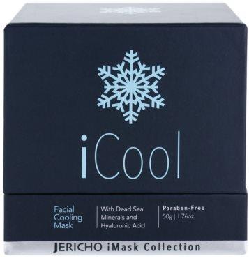 Jericho iMask Collection iCool маска для обличчя з охолоджуючим ефектом з мінералами Мертвого моря 3