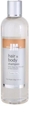 Jericho Men Collection vlasový a telový šampón