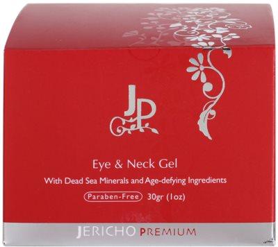 Jericho Premium gel para contorno de ojos y cuello  con minerales del Mar Muerto 5