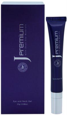 Jericho Premium гел за околоочния контур и шия