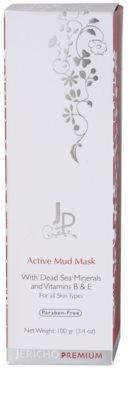 Jericho Premium reinigende Schlamm-Maske für alle Hauttypen 3