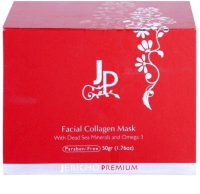 Jericho Premium Gesichtsmaske mit Kollagen 4