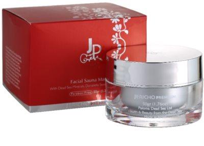 Jericho Premium mascarilla facial efecto calor 1