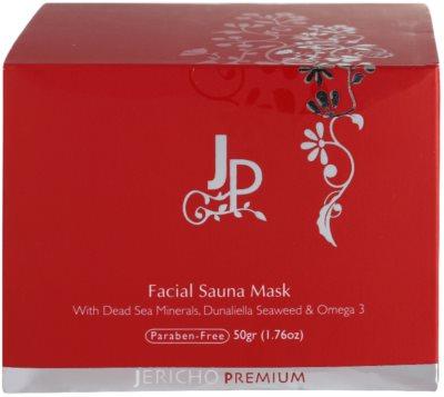 Jericho Premium mascarilla facial efecto calor 3