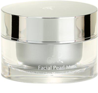 Jericho Premium Gesichtsmaske mit Perlen