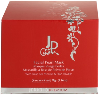 Jericho Premium Gesichtsmaske mit Perlen 5