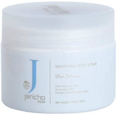 Jericho Body Care SPA élénkítő só peeling tengeri kivonatokkal és illóolajokkal