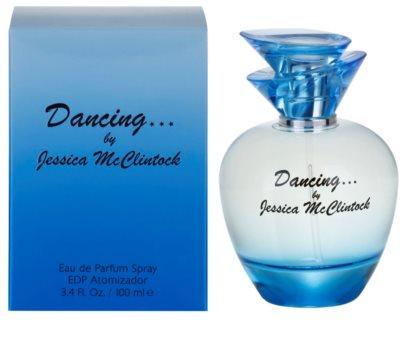 Jessica McClintock Dancing Eau de Parfum para mulheres