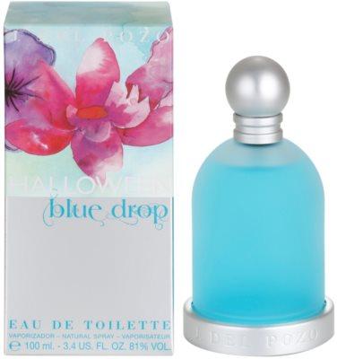 Jesus Del Pozo Halloween Blue Drop Eau de Toilette for Women