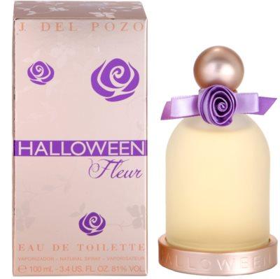 Jesus Del Pozo Halloween Fleur Eau de Toilette para mulheres
