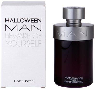 Jesus Del Pozo Halloween Man eau de toilette teszter férfiaknak 2