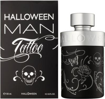 Jesus Del Pozo Halloween Tattoo Man eau de toilette férfiaknak