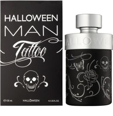 Jesus Del Pozo Halloween Tattoo Man Eau de Toilette pentru barbati