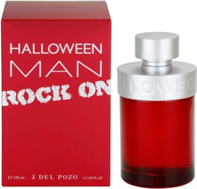 Jesus Del Pozo Halloween Man Rock On Eau de Toilette para homens
