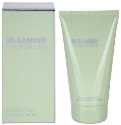 Jil Sander Evergreen telové mlieko pre ženy