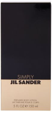 Jil Sander Simply mleczko do ciała dla kobiet 3