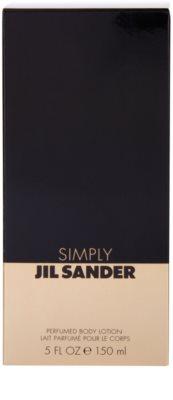 Jil Sander Simply leite corporal para mulheres 3