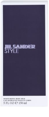 Jil Sander Style leche corporal para mujer 3