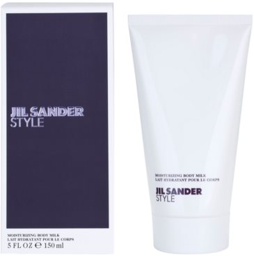 Jil Sander Style leche corporal para mujer