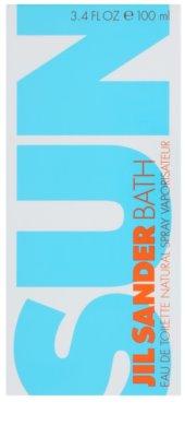 Jil Sander Sun Bath toaletna voda za ženske 1
