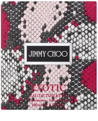 Jimmy Choo Exotic (2016) woda toaletowa dla kobiet 4