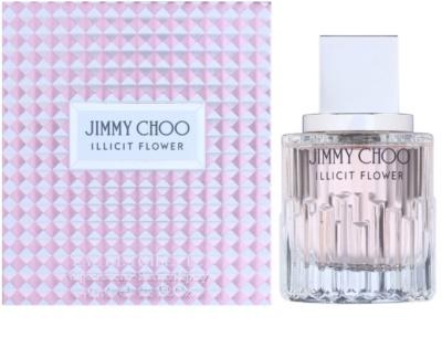 Jimmy Choo Illicit Flower Eau de Toilette para mulheres