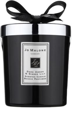 Jo Malone Dark Amber & Ginger Lily illatos gyertya