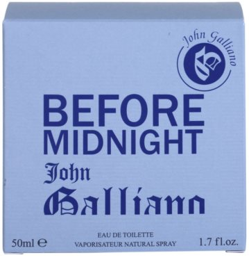 John Galliano Before Midnight eau de toilette férfiaknak 4