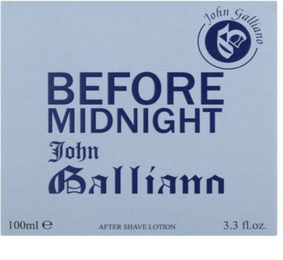 John Galliano Before Midnight woda po goleniu dla mężczyzn 1