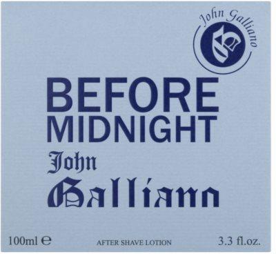 John Galliano Before Midnight after shave pentru barbati 1
