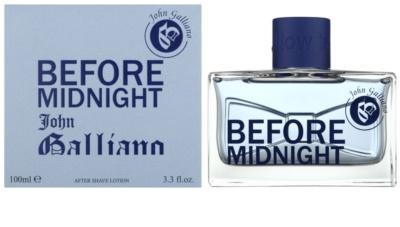 John Galliano Before Midnight after shave pentru barbati