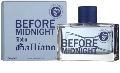 John Galliano Before Midnight after shave para homens 2