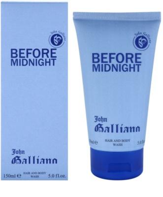 John Galliano Before Midnight gel za prhanje za moške