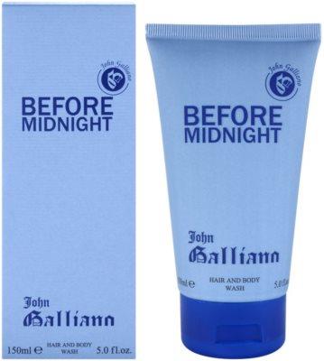 John Galliano Before Midnight гель для душу для чоловіків