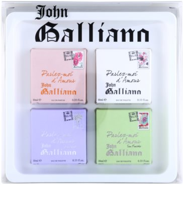 John Galliano Mini coffret presente